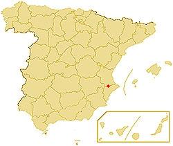 Castle of penella municipality of cocentaina - Cocentaina espana ...