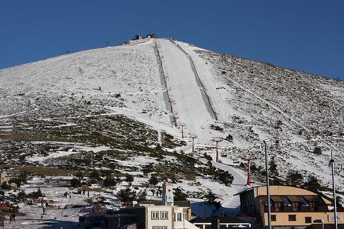 Puerto de Navacerrada ski resort - Municipality of Cercedilla